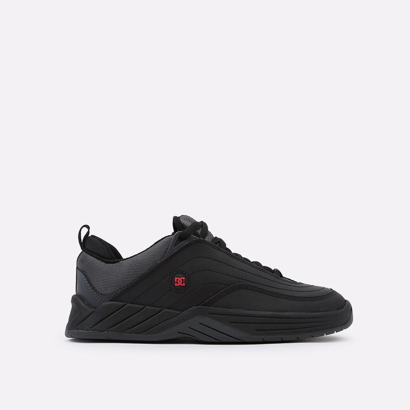 мужские чёрные  кроссовки dc shoes williams slim ADYS100539-bda-bda - цена, описание, фото 1