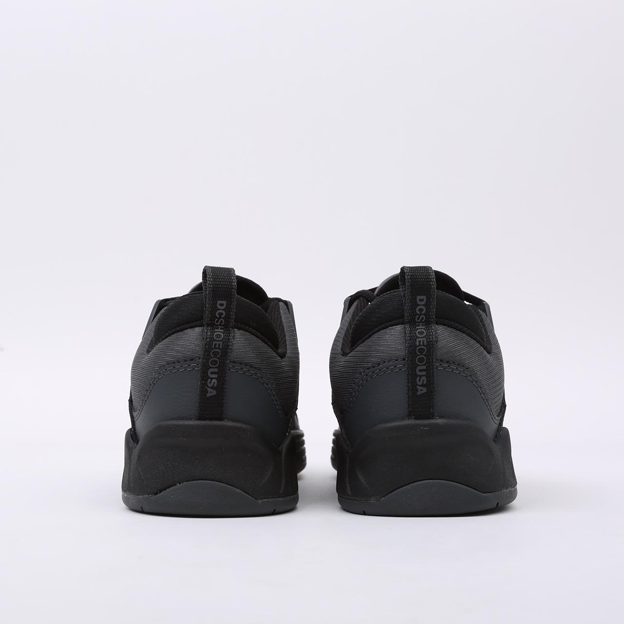 мужские чёрные  кроссовки dc shoes williams slim ADYS100539-bda-bda - цена, описание, фото 3