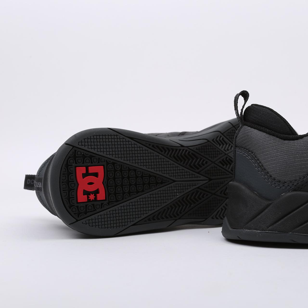 мужские чёрные  кроссовки dc shoes williams slim ADYS100539-bda-bda - цена, описание, фото 4