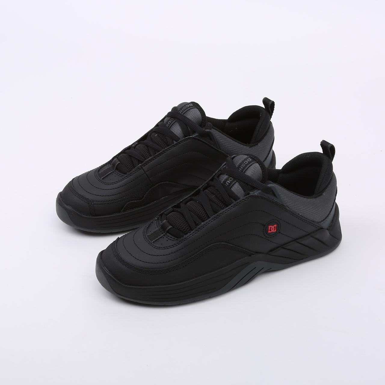 мужские чёрные  кроссовки dc shoes williams slim ADYS100539-bda-bda - цена, описание, фото 5