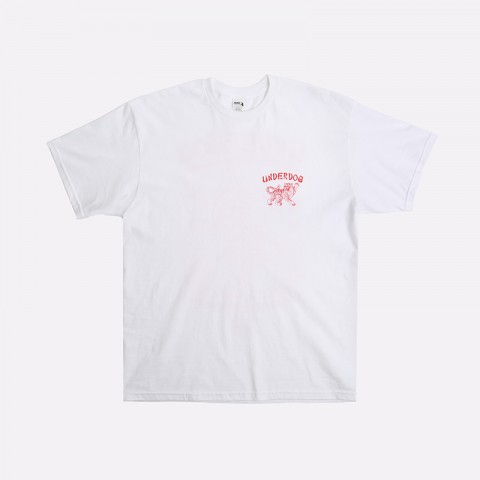 мужскую белую  футболка underdog ramen Ramen - цена, описание, фото 1