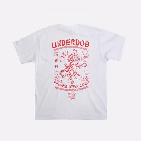 мужскую белую  футболка underdog ramen Ramen - цена, описание, фото 2