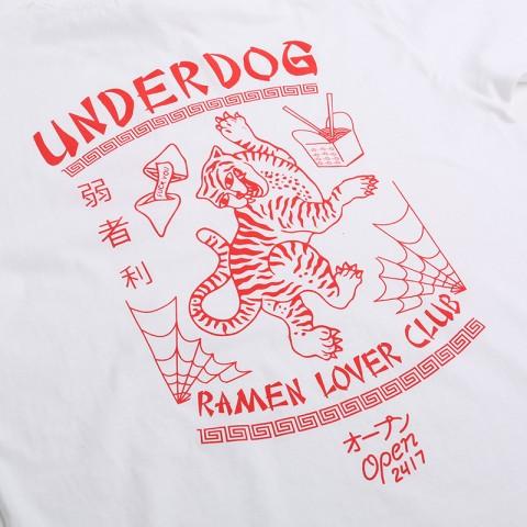 мужскую белую  футболка underdog ramen Ramen - цена, описание, фото 4