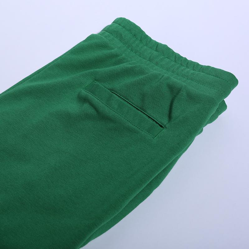 мужские зелёные  брюки jordan jumpman classics fleece CK2850-353 - цена, описание, фото 3