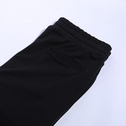 мужские чёрные  брюки jordan jumpman classics fleece CK2850-010 - цена, описание, фото 3