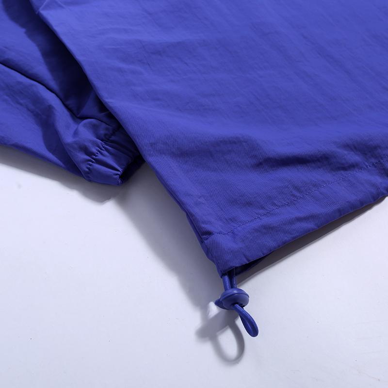 мужскую фиолетовую  куртку jordan jumpman logo jacket CJ4347-554 - цена, описание, фото 4