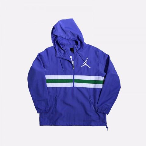 мужскую фиолетовую  куртку jordan jumpman logo jacket CJ4347-554 - цена, описание, фото 1