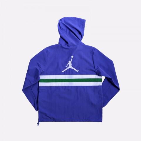 мужскую фиолетовую  куртку jordan jumpman logo jacket CJ4347-554 - цена, описание, фото 2