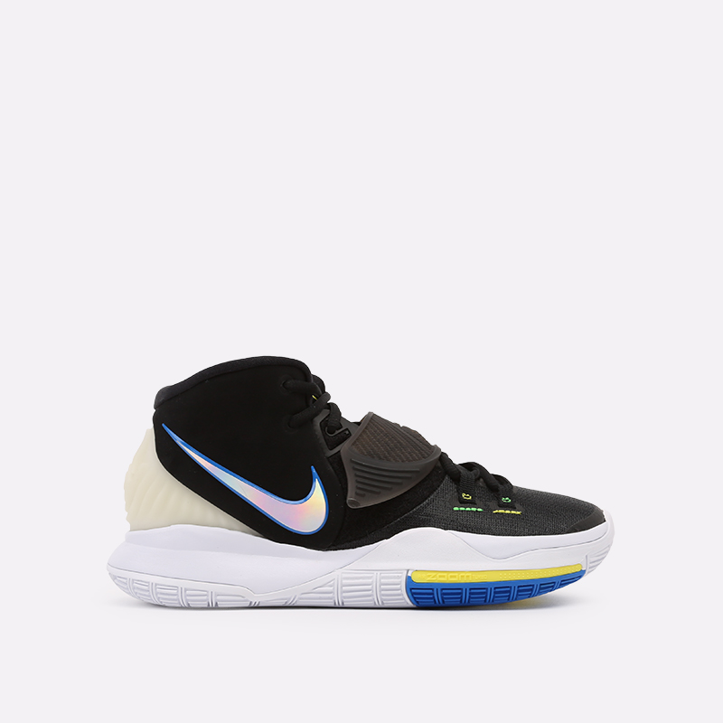 чёрные  кроссовки nike kyrie 6 BQ4630-004 - цена, описание, фото 1