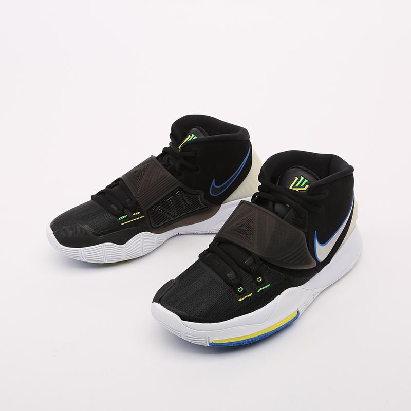 чёрные  кроссовки nike kyrie 6 BQ4630-004 - цена, описание, фото 6