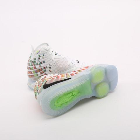 белые  кроссовки nike lebron xvii BQ3177-100 - цена, описание, фото 3