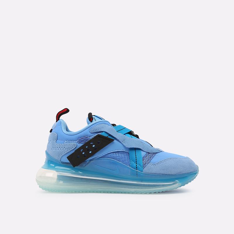 синие  кроссовки nike air max 720 slip/obj DA4155-400 - цена, описание, фото 1