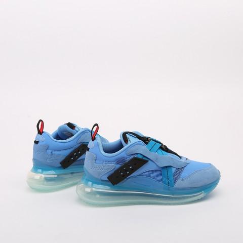 синие  кроссовки nike air max 720 slip/obj DA4155-400 - цена, описание, фото 2