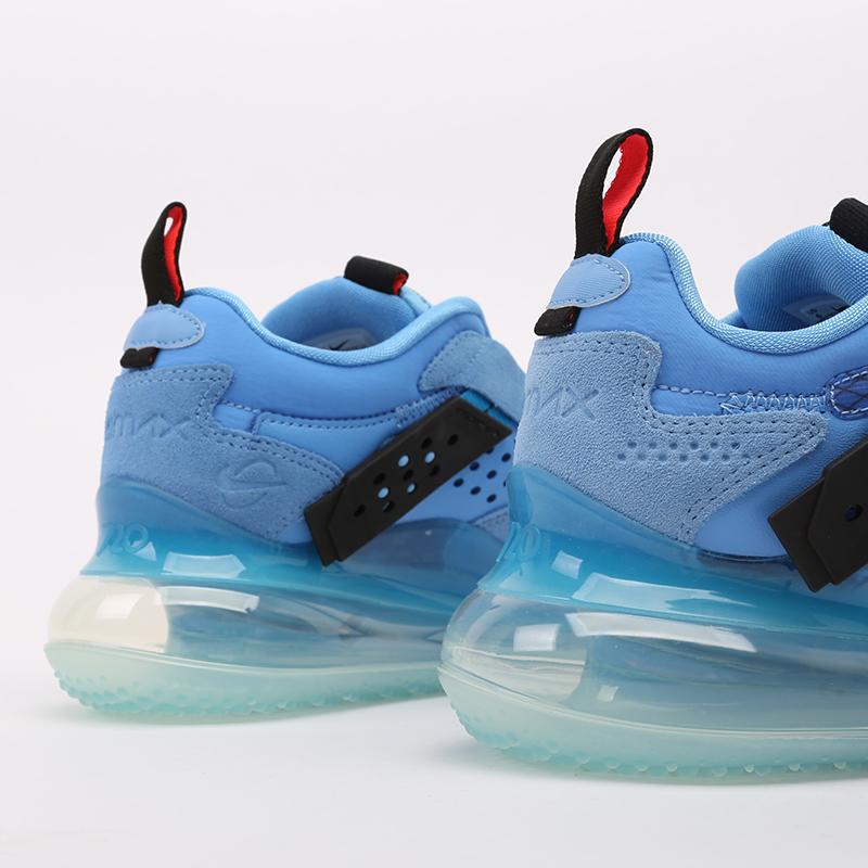 синие  кроссовки nike air max 720 slip/obj DA4155-400 - цена, описание, фото 4