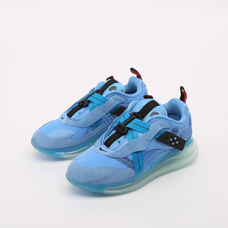 синие  кроссовки nike air max 720 slip/obj DA4155-400 - цена, описание, фото 5