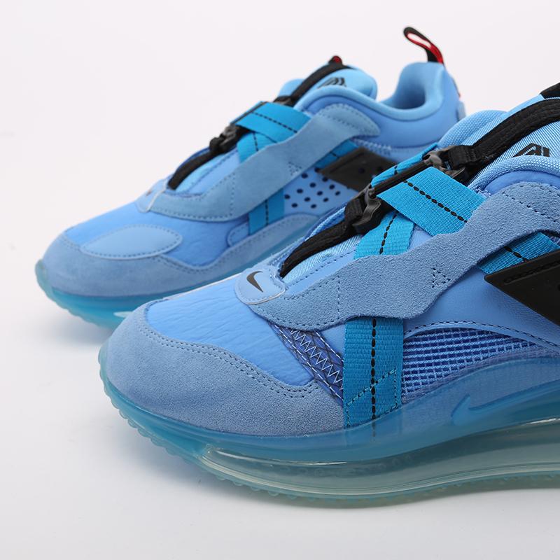 синие  кроссовки nike air max 720 slip/obj DA4155-400 - цена, описание, фото 7