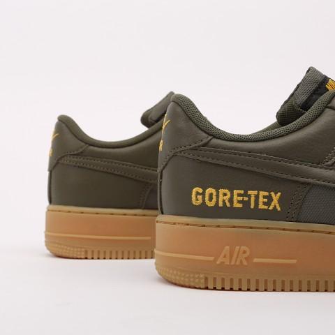 мужские зелёные  кроссовки nike air force 1 gtx CK2630-200 - цена, описание, фото 3