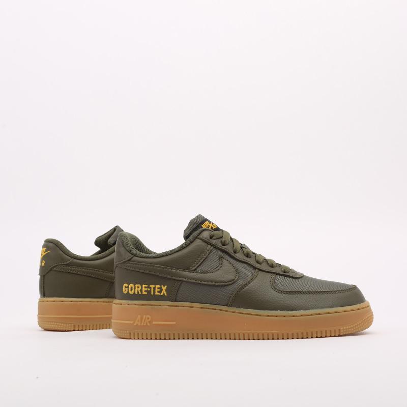 мужские зелёные  кроссовки nike air force 1 gtx CK2630-200 - цена, описание, фото 5