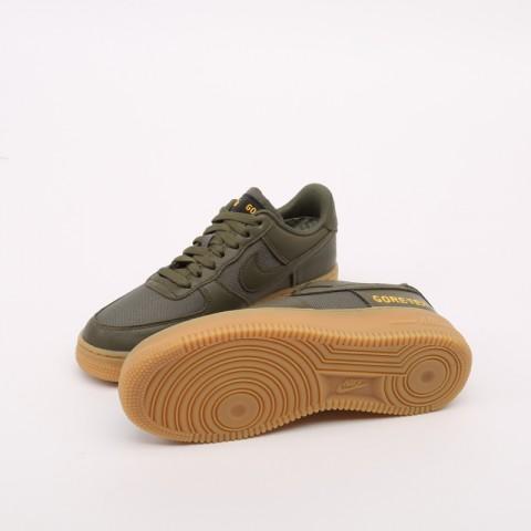 мужские зелёные  кроссовки nike air force 1 gtx CK2630-200 - цена, описание, фото 6