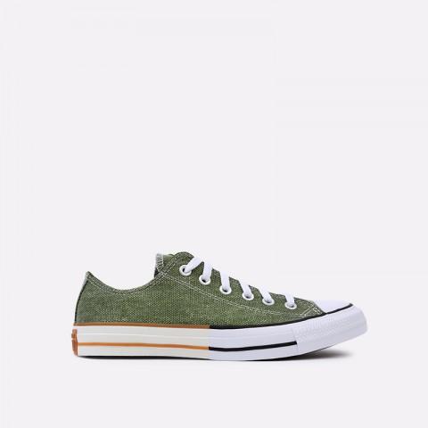 зелёные  кеды converse ctas ox 167663 - цена, описание, фото 1