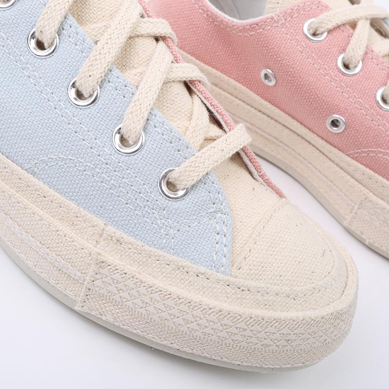 голубые, розовые  кеды converse chuck 70 ox 167772 - цена, описание, фото 5