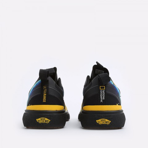 мужские черные  кеды vans ultrarange exo national geographic VA4U1KXU3M - цена, описание, фото 4