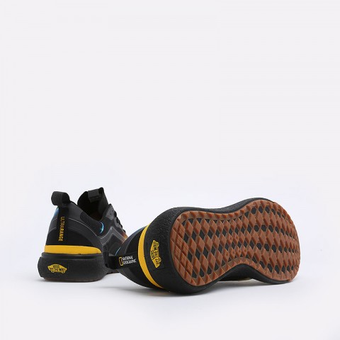мужские черные  кеды vans ultrarange exo national geographic VA4U1KXU3M - цена, описание, фото 5