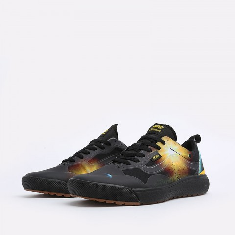 мужские черные  кеды vans ultrarange exo national geographic VA4U1KXU3M - цена, описание, фото 2