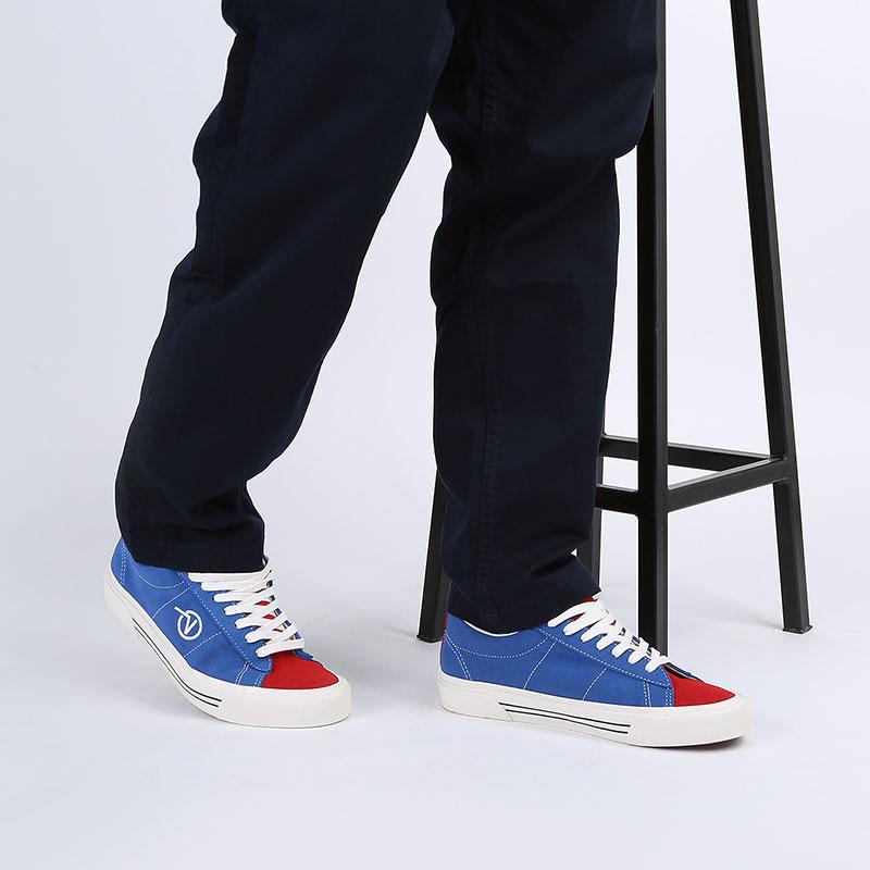 мужские синие, красные  кеды vans sid dx VA4BTXXIBM - цена, описание, фото 6