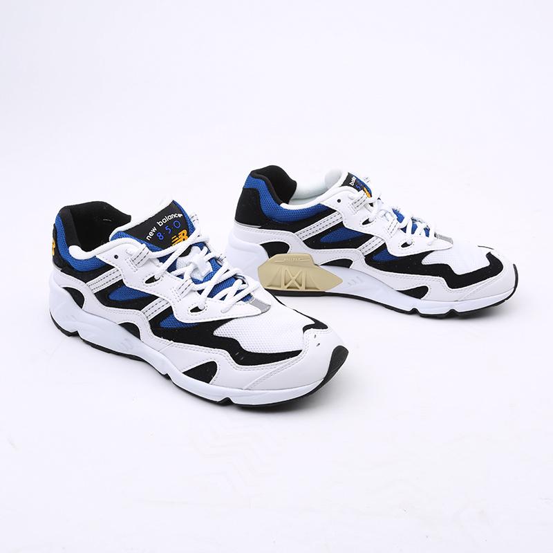 мужские белые  кроссовки new balance 850 ML850YSC/D - цена, описание, фото 7