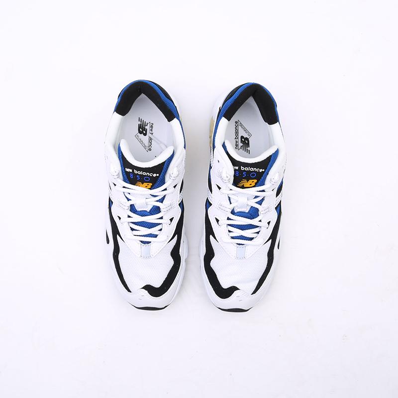мужские белые  кроссовки new balance 850 ML850YSC/D - цена, описание, фото 8