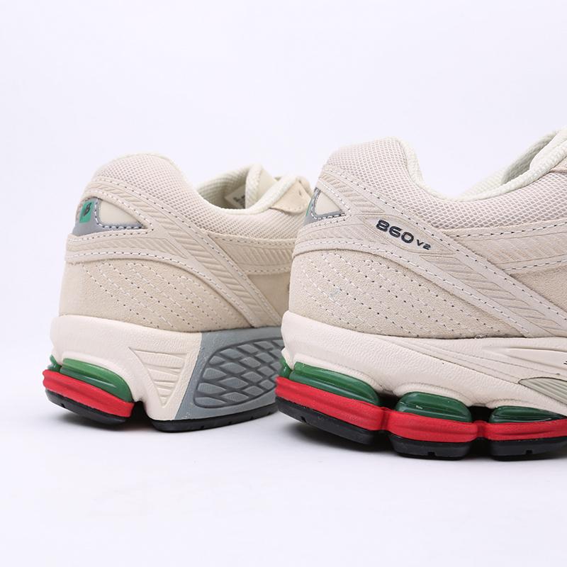 мужские бежевые  кроссовки new balance 860 ML860XG/D - цена, описание, фото 3