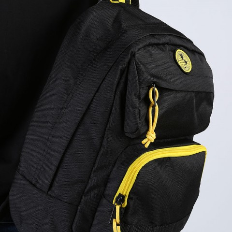женский черный  рюкзак vans national geographic backpack VA4RGRBLK - цена, описание, фото 4