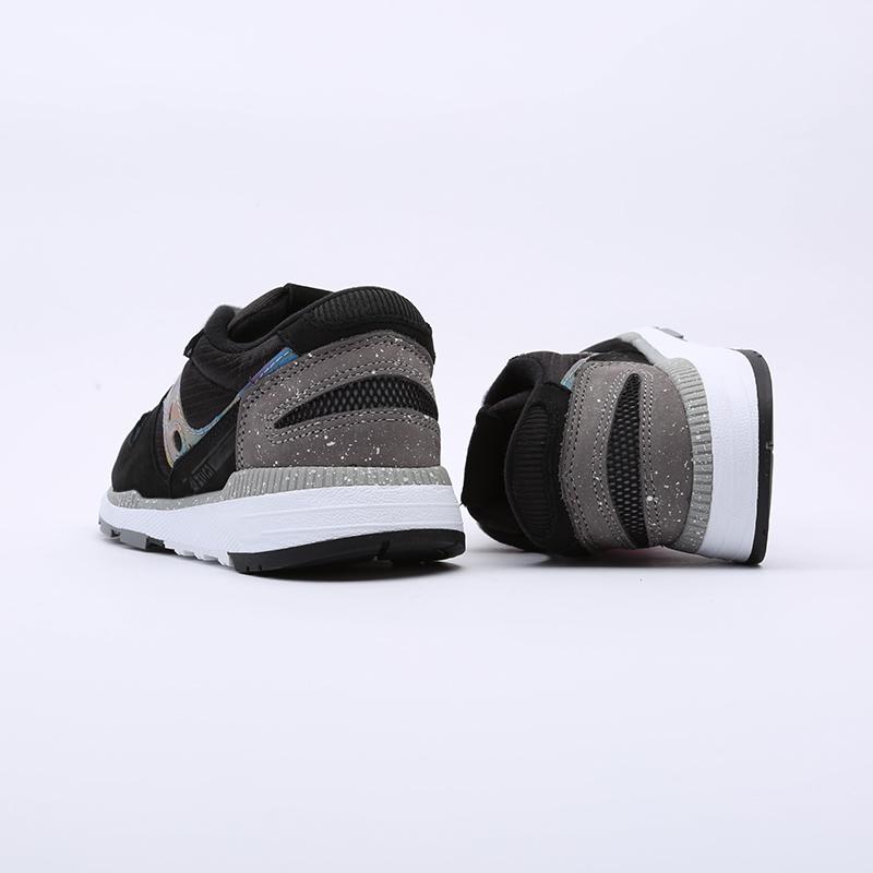 мужские чёрные  кроссовки saucony azura S704942 - цена, описание, фото 5