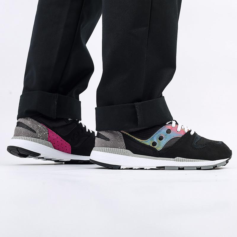 мужские чёрные  кроссовки saucony azura S704942 - цена, описание, фото 10