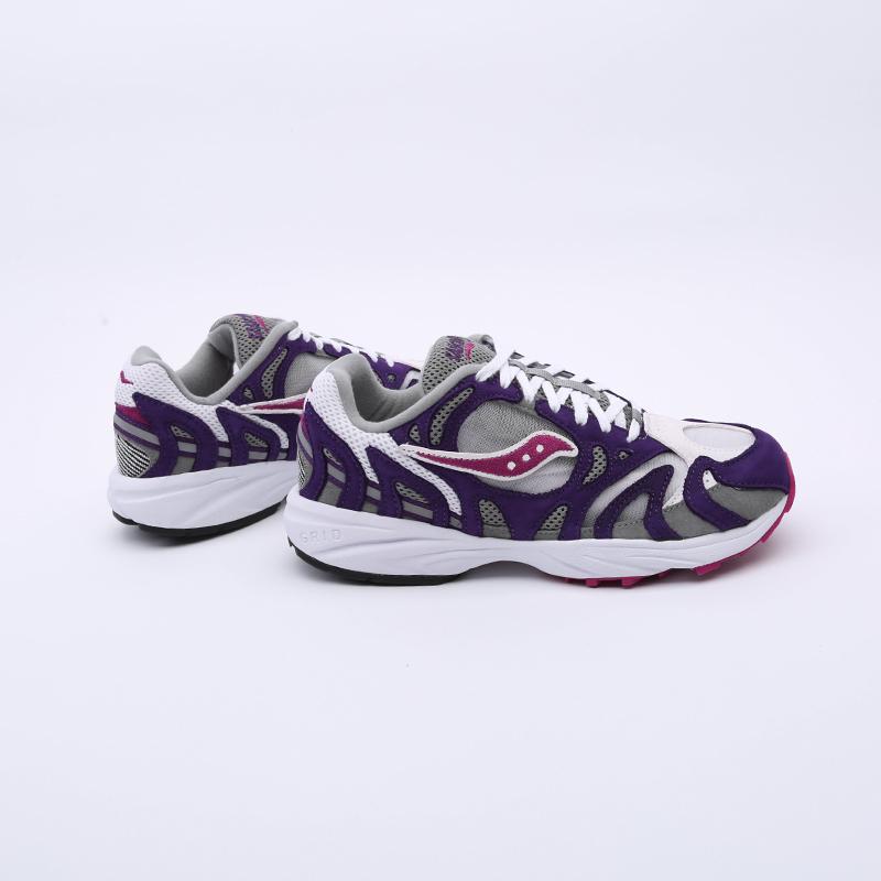 мужские белые, фиолетовые  кроссовки saucony grid azura 2000 S704912 - цена, описание, фото 4