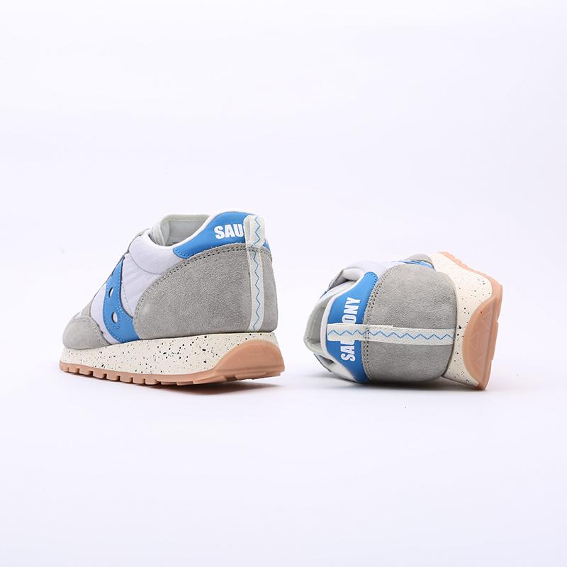 мужские серые  кроссовки saucony jazz original S704636 - цена, описание, фото 4