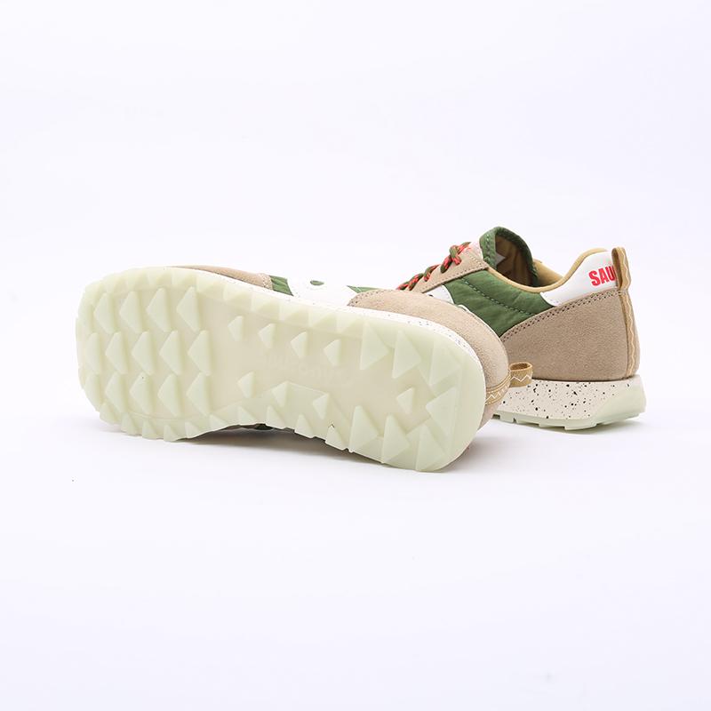 мужские зелёные  кроссовки saucony jazz original S704637 - цена, описание, фото 6
