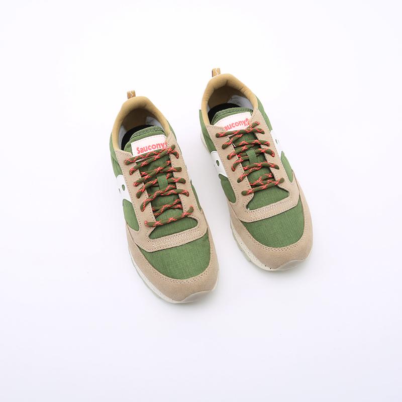 мужские зелёные  кроссовки saucony jazz original S704637 - цена, описание, фото 7