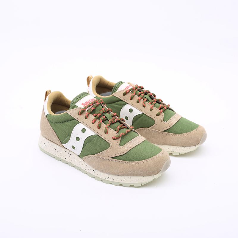 мужские зелёные  кроссовки saucony jazz original S704637 - цена, описание, фото 2