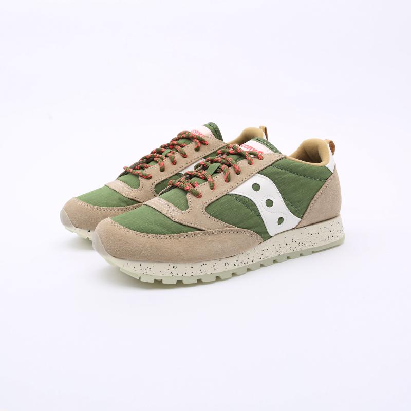 мужские зелёные  кроссовки saucony jazz original S704637 - цена, описание, фото 3