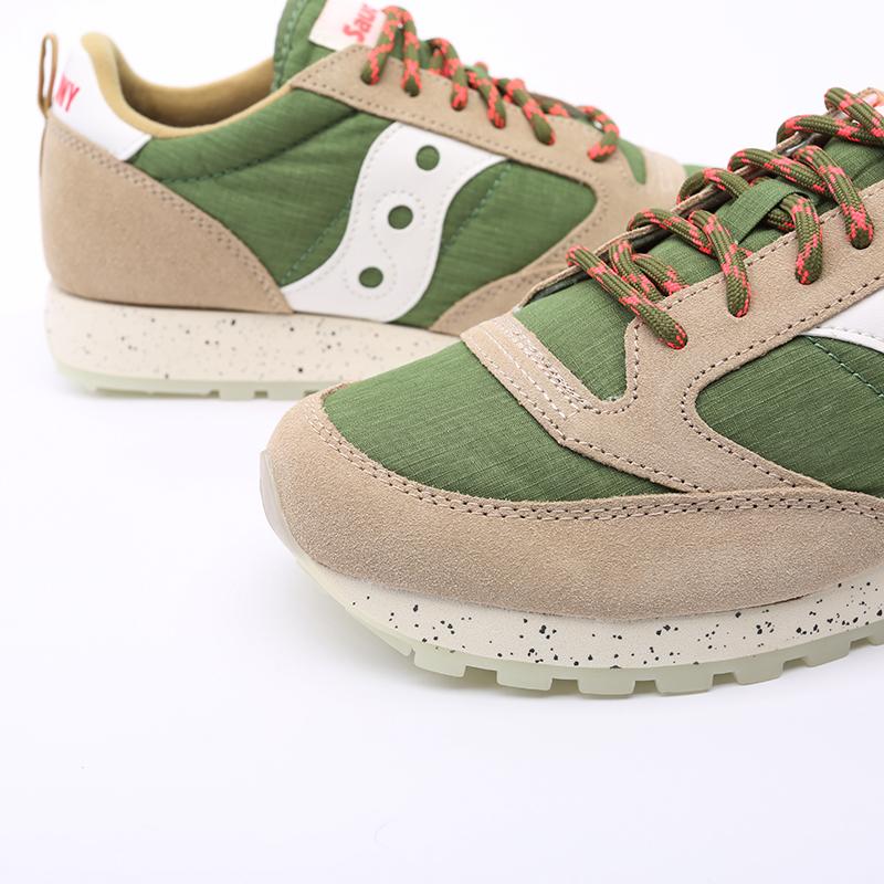 мужские зелёные  кроссовки saucony jazz original S704637 - цена, описание, фото 4