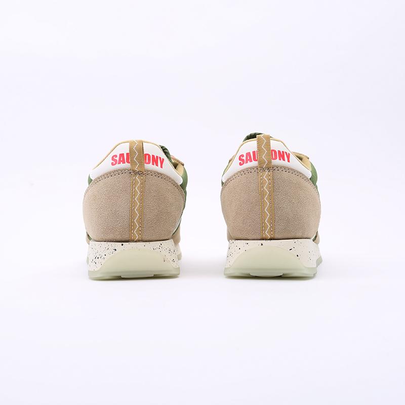 мужские зелёные  кроссовки saucony jazz original S704637 - цена, описание, фото 5