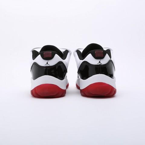 детские чёрные  кроссовки jordan 11 retro low (ps) 505835-160 - цена, описание, фото 3