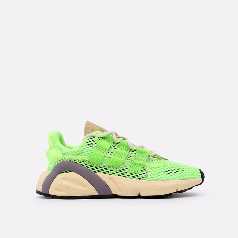 зелёные  кроссовки adidas lxcon EF4279 - цена, описание, фото 1