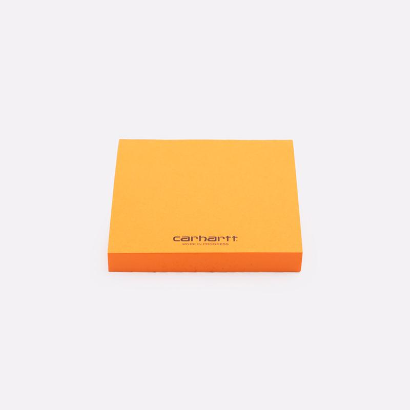 оранжевые  стикеры carhartt wip stickers i028080-orange - цена, описание, фото 1
