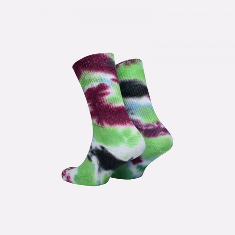 разноцветные  носки stussy tie dye socks 138661-blue - цена, описание, фото 2