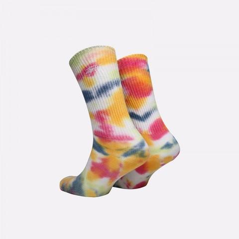 разноцветные  носки stussy tie dye socks 138661-pink - цена, описание, фото 2