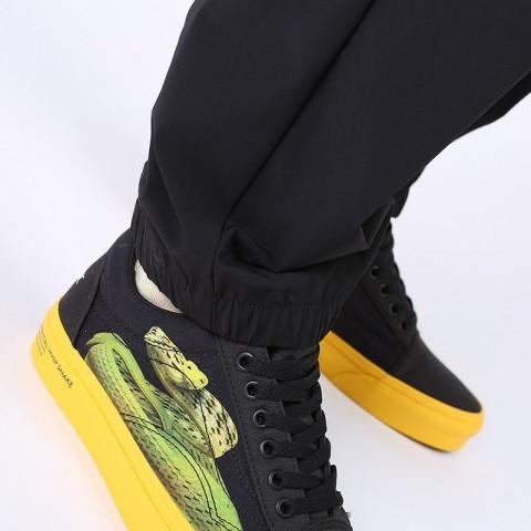 мужские черные  брюки carhartt wip hayes pant I027598-black - цена, описание, фото 3