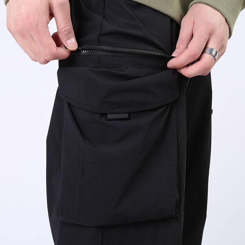 мужские черные  брюки carhartt wip hayes pant I027598-black - цена, описание, фото 4